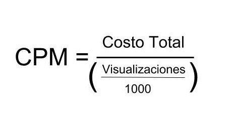 fórmula CPM